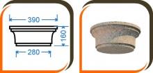 Капитель колонны (половинка) КК-001